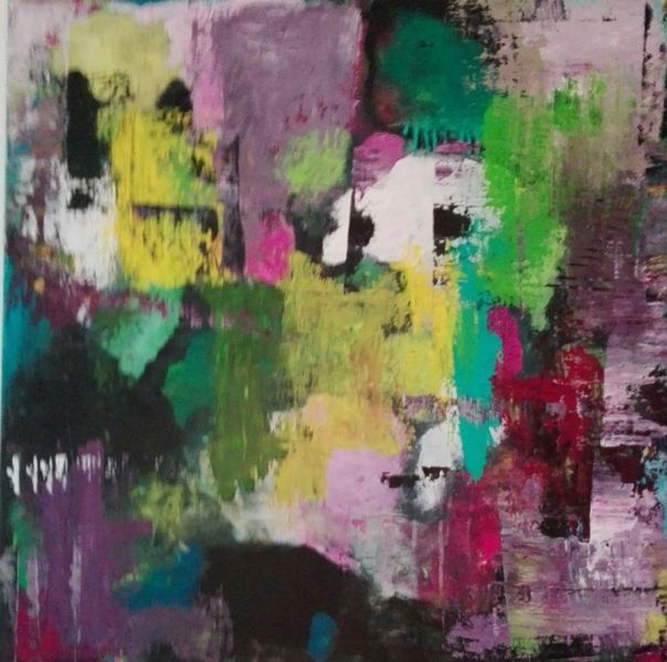 Informel, Kontrast, Komposition, Malerei