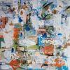 Komposition, Informel, Acrylmalerei, Malerei