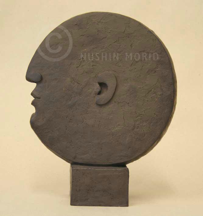 bild gesicht kopf portrait abstrakt von nushin morid. Black Bedroom Furniture Sets. Home Design Ideas