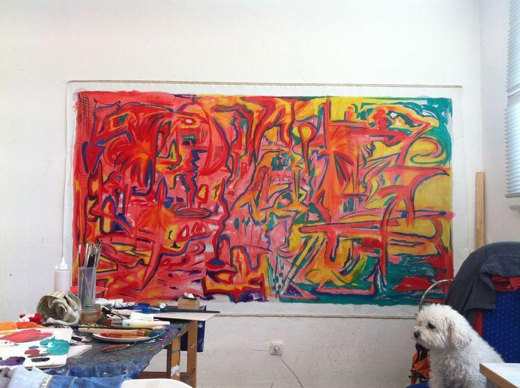 Malerei, Vernunft, Teil