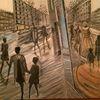 Acrylmalerei, Düsseldorf, Menschen, Abstrakt