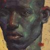 Realismus, Portrait, Jung, Kunstwerk