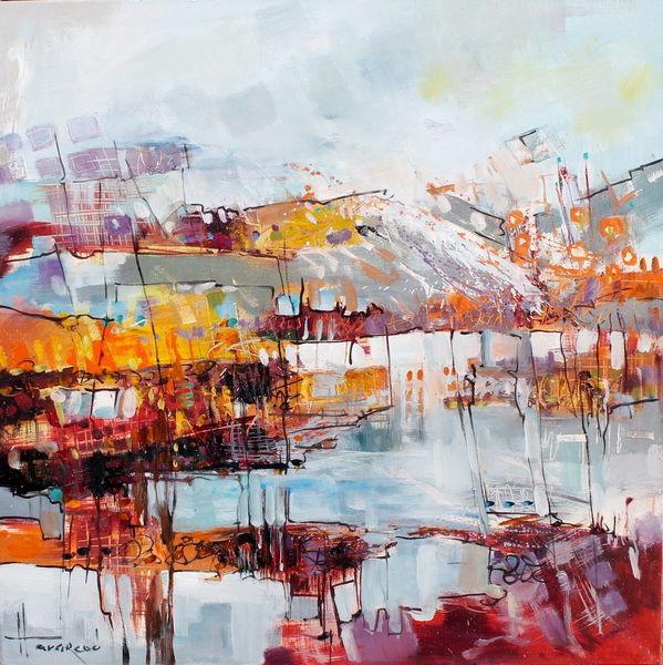 Sommer, Abstrakt, Weiß, Interior design, Rot, Orange