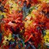 Bunt, Blüte, Sommer, Malerei