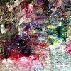 Bunt, Abstrakt, Landschaft, Malerei