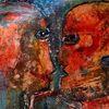 Blau, Menschen, Malerei