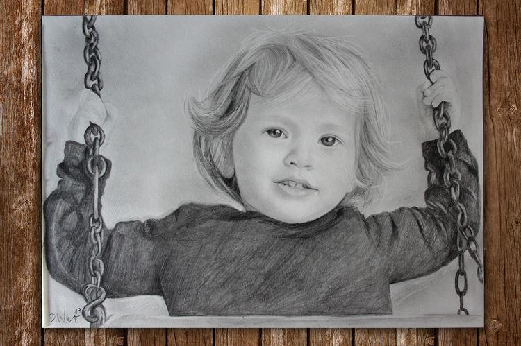 Kind, Menschen, Mädchen, Zeichnungen, Kinder, Zeichnung