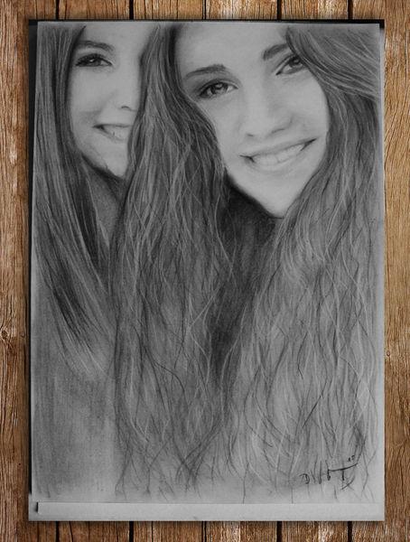 Haare, Zeichnung, Kohlezeichnung, Portrait, Zeichnungen, Kohlezeichnungen