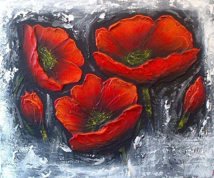 Blumen, Modern, Malerei