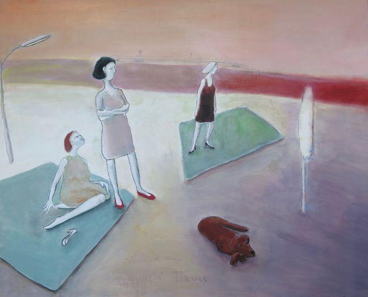 Malerei, Fläche, Picknick