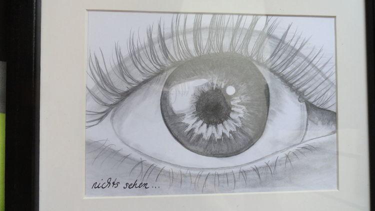 Schwarz, Malerei, Zeichnung, Sehen,
