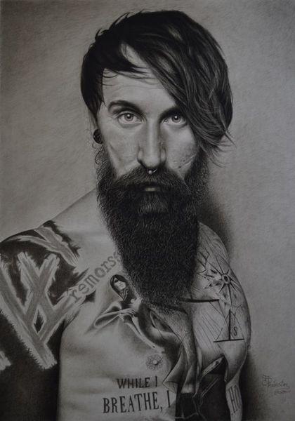 Menschen, Realismus, Zeichnung, Portrait, Zeichnungen