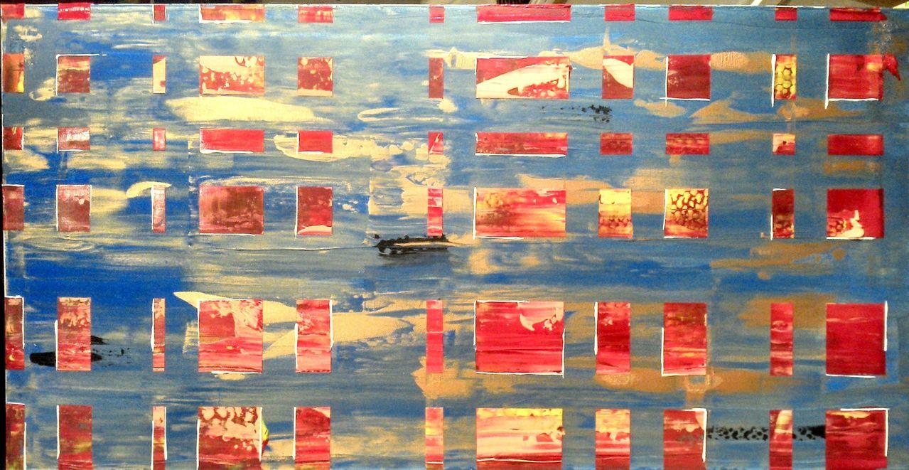 Wasser Feuer Malerei Wasser Feuer Von Marius Hansen Bei Kunstnet