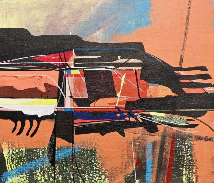 Stern, Abstrakt maleri, Zeichnung, Modern, Technik, Zeitgenössisch