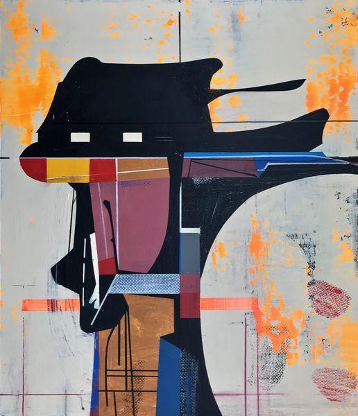 Abstrakt maleri, Avantgarde, Modern, Rätsel, Metaphysisch, Technik