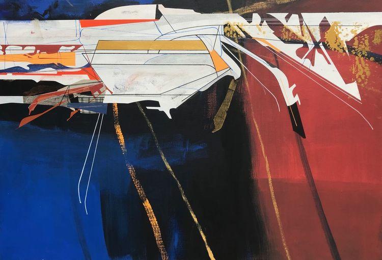 Modern, Avantgarde, Abstrakt, Technik, Zeitgenössisch, Futurismus