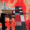 Technologie, Acrylmalerei, Futurismus, Zeitgenössisch