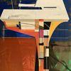 Technologie, Modern, Futurismus, Acrylmalerei