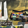 Acrylmalerei, Futurismus, Technologie, Technik