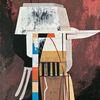 Technologie, Avantgarde, Acrylmalerei, Metaphysisch