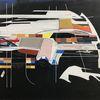 Acrylmalerei, Avantgarde, Lunar, Technologie