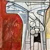 Zeitgenössisch, Luft, Metaphysisch, Acrylmalerei