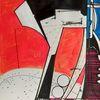 Acrylmalerei, Zeitgenössisch, Technologie, Zeichnung