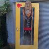 Rein, Tür steher, Kumst, Holz
