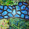 Ölmalerei, Kontrast, Pinselstriche, Gestisch
