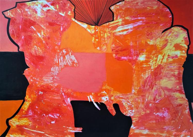 Ebene, Verbindung, Dimension, Malerei