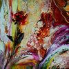 Blumen, Abstrakt, Rose, Malen