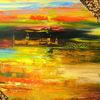Coburg, Herbst, Malerei, Zwielicht