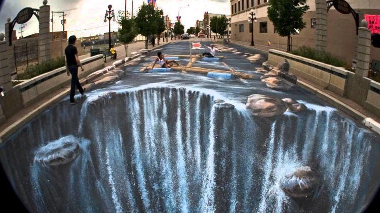 Street Art Optische Illusionen Kunstnet
