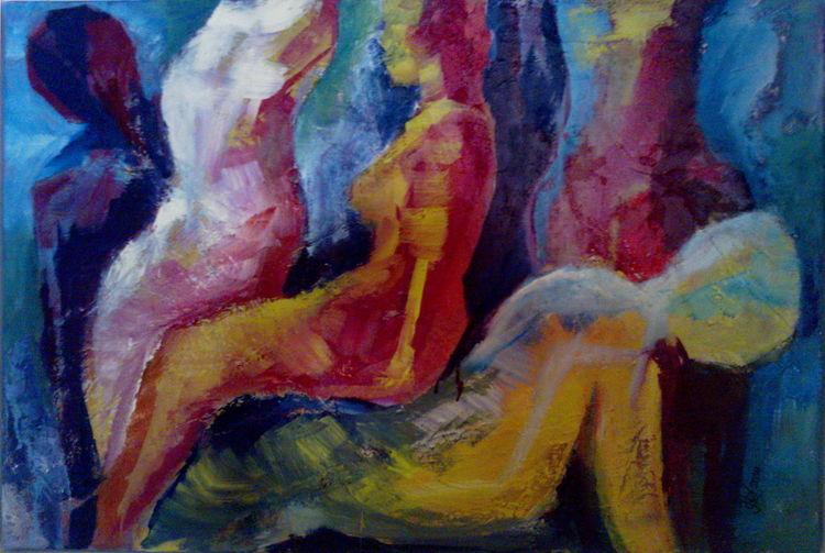 Acrylmalerei, Abstrakt, 2014, Malerei,
