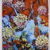 2015, Landschaft, Acrylmalerei, Abstrakt