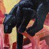 Gelb, Schwarz, Tiere, Malerei
