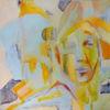 Gelb, Rot, Portrait, Bleu
