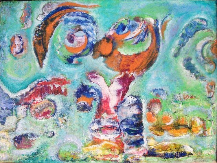 Orange, Schlange, Bunt, Augen, Blau, Fledermaus
