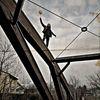 Luftballon, Menschen, Brücke, Fotografie