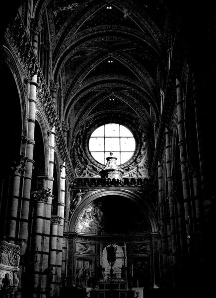 Schwarz, Weiß, Kirche, Fotografie