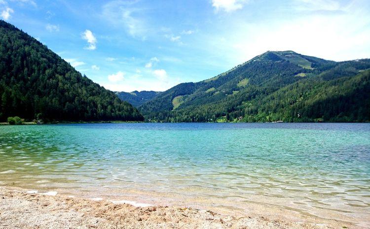 Wasser, Erlaufsee, See, Berge, Fotografie