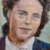 Um 1950, Freundlich, Malerei, Mutter