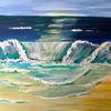 Wasser, Meer, Malerei, Welle