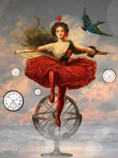 Vogel, Fantasie, Maarta, Surreal, Welt, Tiere