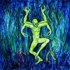 Blau, Mystik, Surreal, Figural