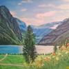 Berge, Wald, See, Farben