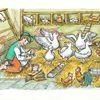 Stall, Junge, Huhn, Ente