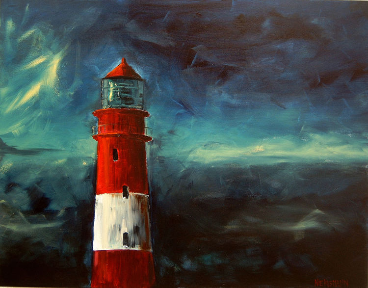 Wasser, Malerei, Meer, Landschaft, Licht, Blau