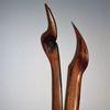 Skulptur, Verscheiden, Weg, Holzskulptur