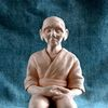 Figural, Opa, Meditation, Figur